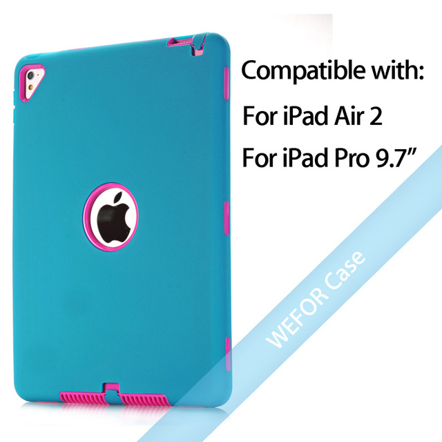 Blue and Rose Ipad pro cover 5c649ed9e3623