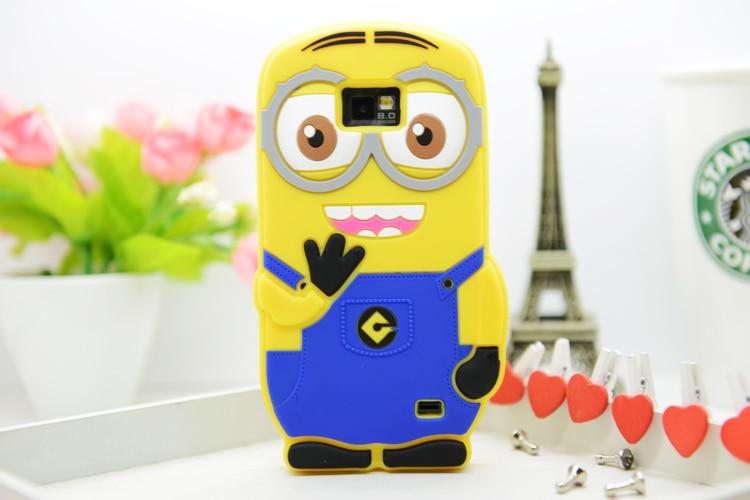 Для Samsung Galaxy S8 S8 плюс S3 S4/мини-S5/мини-S6/EDGE/плюс S7/ край 3D мультфильм Гадкий я Желтый Миньон мягкий силиконовый Чехол