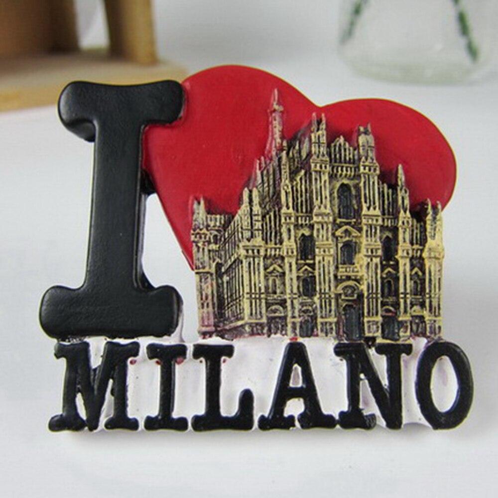 Italy duomo di milano fridge magnets tourist souvenirs for Home decor milano