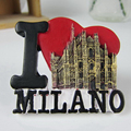 Italy Duomo di Milano Fridge Magnets Tourist Souvenirs Refrigerator Magnetic Stickers Home Decor Creative Decoration