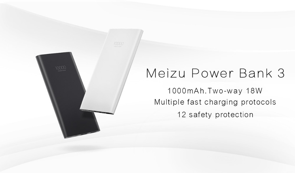 Original Meizu 10000mAh Power Bank 3