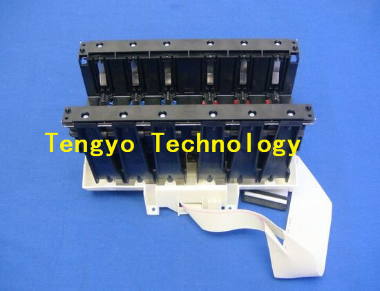 Q6683-60188 Left ink supply station for HP Designjet T610 T620 T770 T790 T1100 T1200 T1300 used  plotter parts refurbished q6683 60195 24inch plotter ink supply tubes for hp designjet t610 t1100