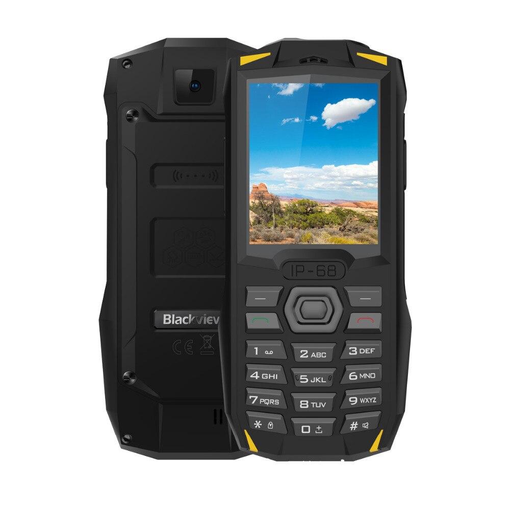 Купить Прочный мобильный телефон Blackview BV1000 IP68 2,4 дюйма 3000 мАч Водонепроницаемый противоударный фонарь-прожектор MTK6261 Dual SIM мини мобильный телефон на Алиэкспресс