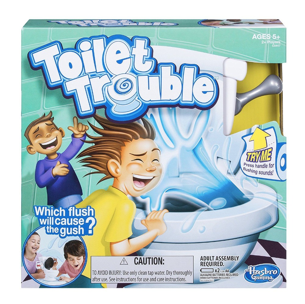 Children's Educational Toys Novelty & Gag Toys Funning TOILET TROUBLE Gift For Girls And Boys Practical Jokes