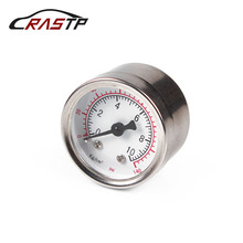 RASTP- Universal 1/8 NPT Fuel Pressure Gauge Liquid 0-140 psi Oil Press Gauge Fuel Gauge White Face RS-CAP012 велосипед trek fuel ex 8 29 2016
