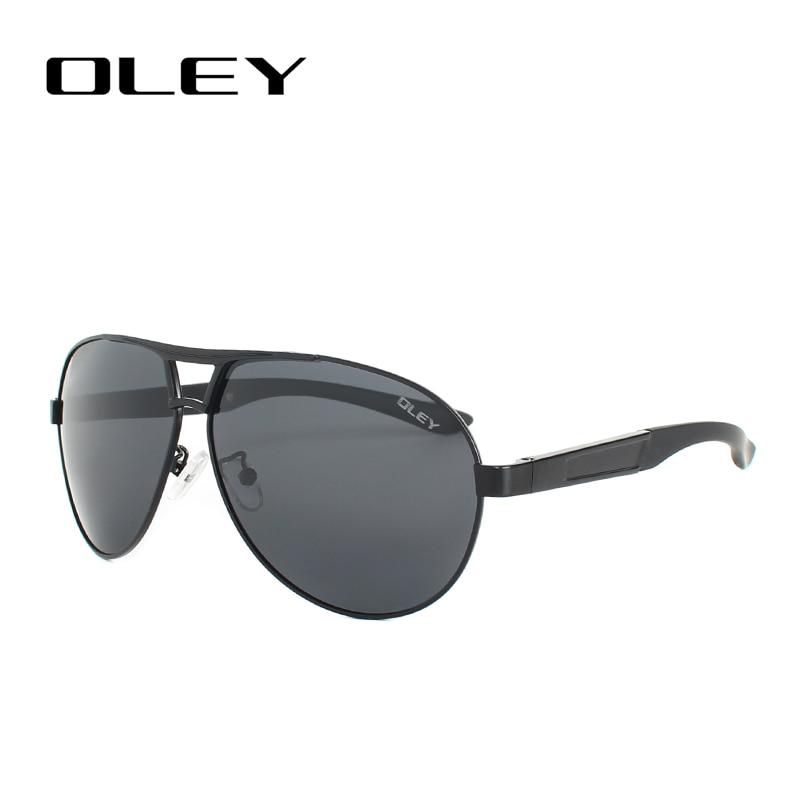 f0bd4c02d35300 OLEY Retro Round Sunglasses Men Polarized Oversized Sun Glasses women Big  frame Driving Goggles lunettes de soleil pour hommes -in Sunglasses from  Men s ...