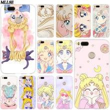 MLLSE Anime sailor moon lune cat Case Cover for Xiaomi Mi Pl