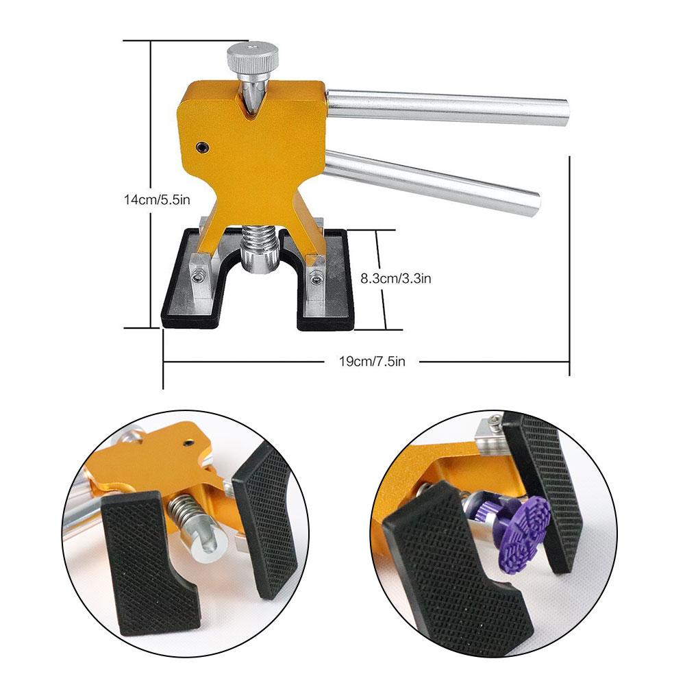 PDR инструменты Dent Puller инструменты безболезненные Инструменты для ремонта вмятин набор безболезненных инструментов для удаления вмятин Инструменты для ремонта кузова автомобиля бесплатный подарок