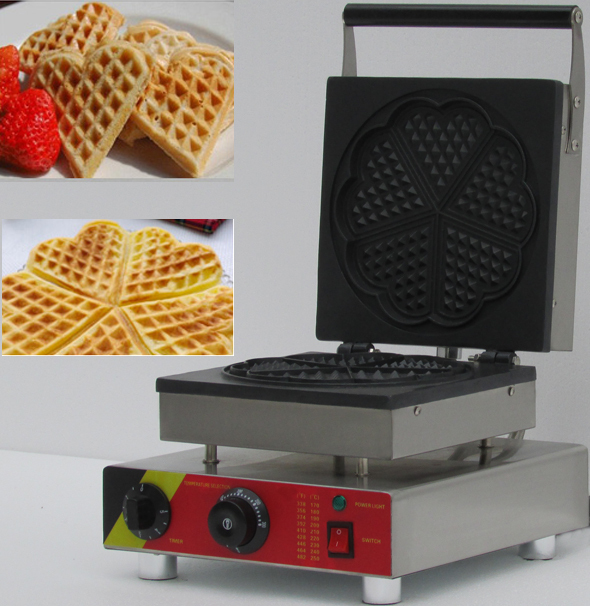 four slices  heart shape commercial waffle cone machine/ belgian waffle maker/electric pancake maker machine for sale double commercial electric rectangle cone maker and butterfly waffle maker for sale