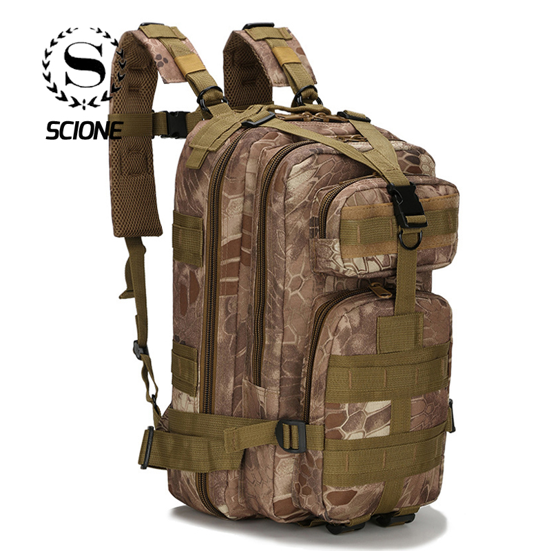 Scione 1000d Military Outdoor Backpacks Tactical Camouflage Bags Waterproof Nylon Shoulder Pack For Unisex Hiking Travel Camping