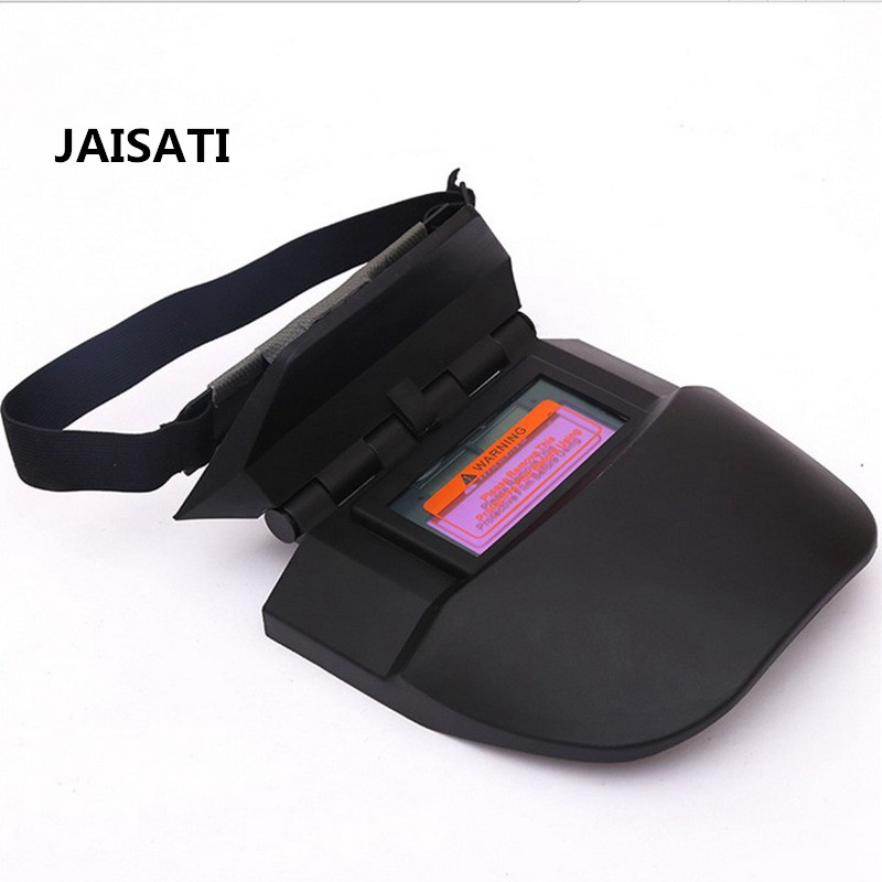 все цены на JAISATI Head-mounted welding mask protective welder cap argon arc welding UV mask