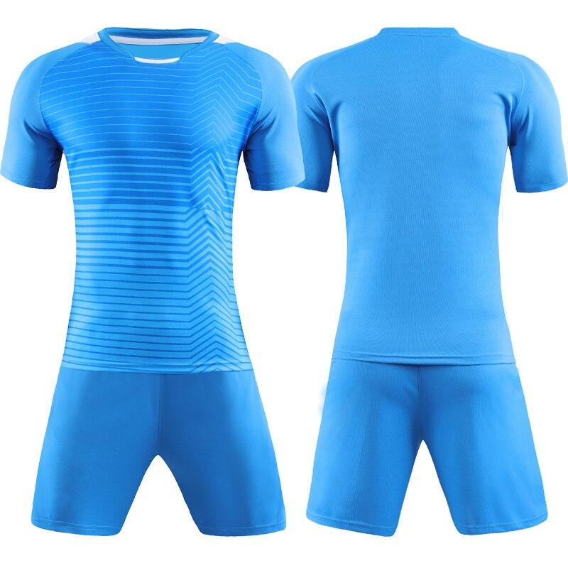 Hombres Adultos FÚTBOL Camisetas infantiles manga corta fútbol conjunto  Futbol barato uniformes de entrenamiento trajes chándal en Juegos de fútbol  de ... 408f86b6a1f4a