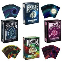 1pc Bicycle Poker 4 Style Choose Starlight Shooting star Black Hole lunar Deck Bicycle Playing Cards USPCC Limited Edition Magic