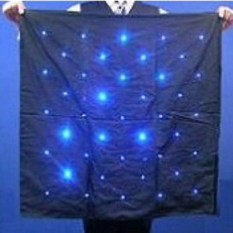 Blendo sac (rouge/bleu) lumières tours de Magie attrayant scène magique produire lumières accessoires de Magie Gimmick accessoires de Magie mentalisme