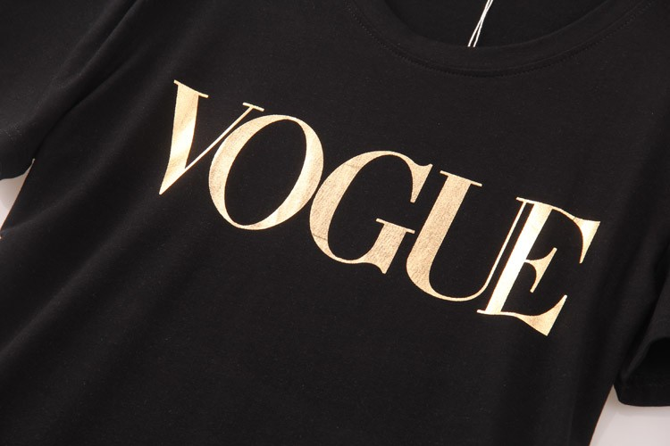 HTB12nrXLVXXXXXsaXXXq6xXFXXX2 - VOGUE Printed T-shirt Women Tops Tee Shirt Femme New Arrivals
