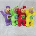 4 шт./лот Teletubby плюшевые игрушки куклы телепузики лаа, Тинки, Винки плюшевые игрушки 33 см