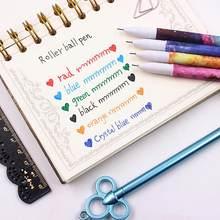 Jonvon Satone 60 Pcs(10set ) Cute Pens 0.38mm Gel Pens Starry Star For Kid Gel Pen Black Ink Refill Office School Supplies Gifts