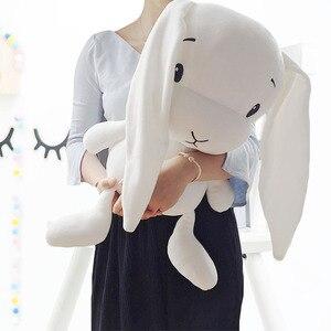 Image 4 - מזל ילד יום ראשון 65/50/25cm חמוד ארנב בפלאש צעצוע ממולא רך ארנב בובת תינוק ילדים צעצועים בעלי החיים צעצוע יום הולדת מתנה לחג המולד