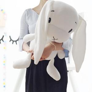 Image 4 - Lucky boy domingo 65/50/25cm coelho bonito brinquedo de pelúcia recheado macio coelho boneca bebê crianças brinquedos brinquedo animal aniversário presente de natal
