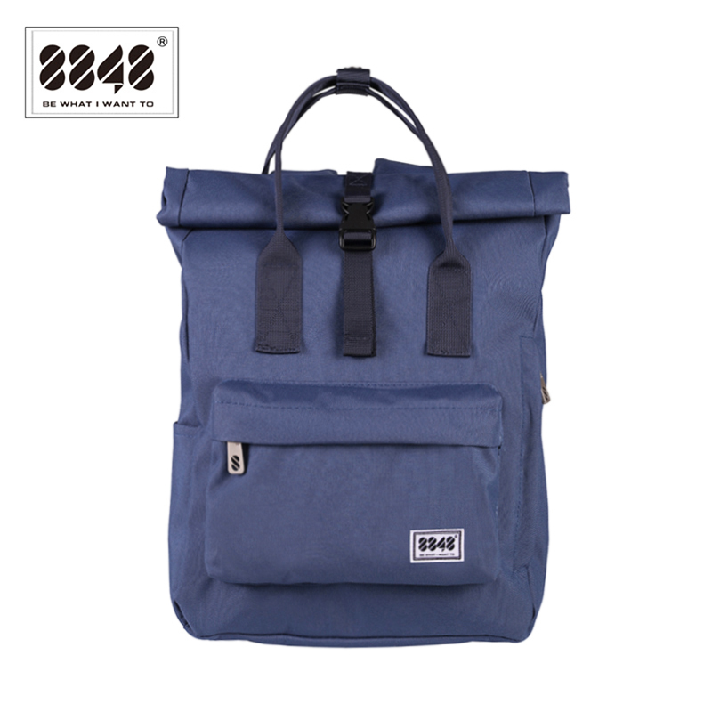 8848 Women Preppy School Bags For College Student Blue Oxford Waterproof Travel Bags Girls Brand Backpack Mochila 030-041-0068848 Women Preppy School Bags For College Student Blue Oxford Waterproof Travel Bags Girls Brand Backpack Mochila 030-041-006