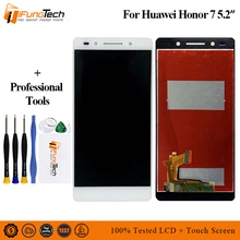 5.2 Tested LCD For HUAWEI Honor 7 Display Touch Screen Digitizer with Frame for Huawei Honor7 Replacement