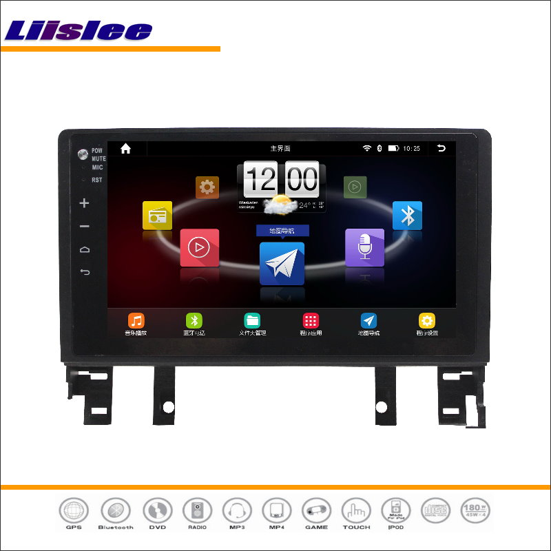 Liislee Car Android GPS Nav Map Navigation System For Mazda 6 2002~2008 Radio Stereo Audio Video Multimedia ( No CD DVD Player ) yessun for mazda cx 5 2017 2018 android car navigation gps hd touch screen audio video radio stereo multimedia player no cd dvd