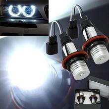 2 шт. 3 Вт 7000 K светодиодный подсветка Angel Eyes ксеноновая маркер лампочка для BMW E39 E53 E87