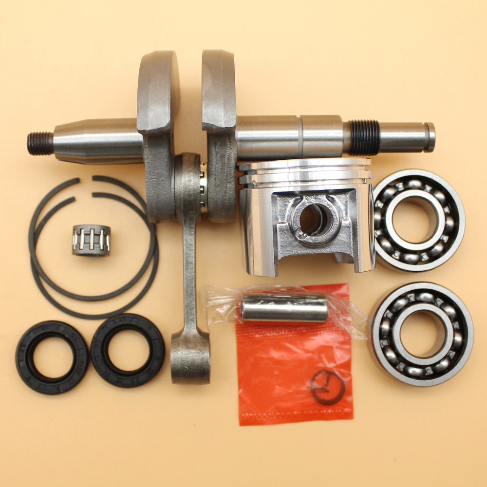 Crankshaft Piston Bearing Oil Seal Set Fit STIHL 023 025 MS230 MS250 (42.5mm) Chainsaw Engine Motor Parts mtkracing cnc short adjusterable brake clutch lever for kawasaki zx6r 636 zx10r z1000sx ninja 1000 tourer z1000 z750r