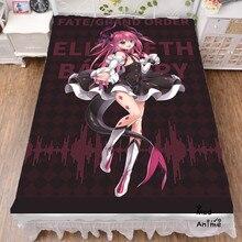 Japanese Anime Fate FGO Game Elizabeth Bathory Bed sheets  Bedding Coverlet cartoon Flat Sheet cosplay fan gift drop shipping bathory bathory requiem lp