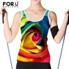 FORUDESIGNS Tank Tops Women 2017 Summer Sexy 3D Floral Rose Print Tank Top Women Colorful Flowers