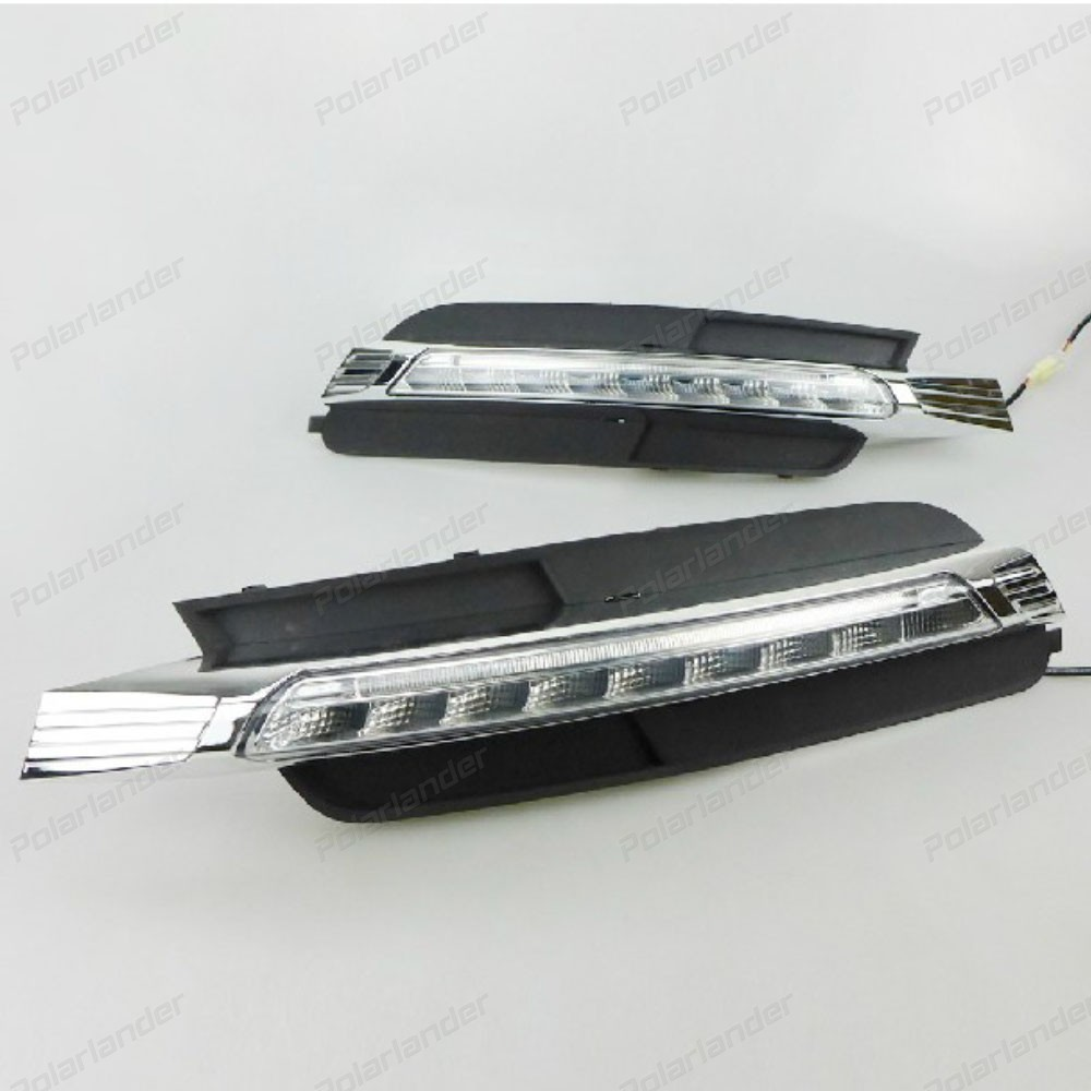 Best priice Car DRL for A/udi A6L 2013-2015 bright daytime running lights