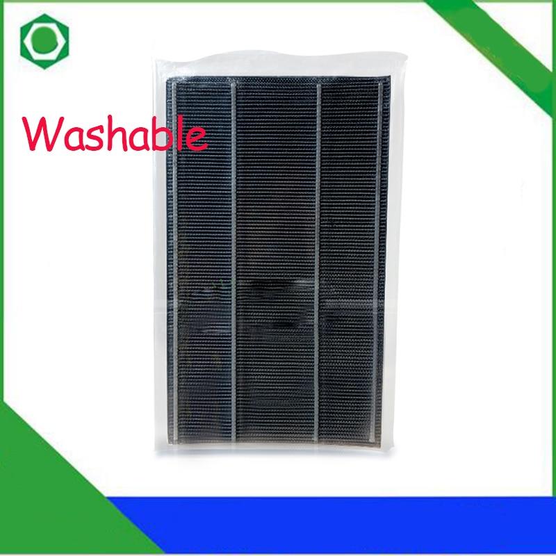 47.5*25cm Washable Air Purifier Replacement Heap Filter FZ-240DFS for Sharp FU-W240SW FU-W240SR FU-W240SB FZ-240D FSAir Purifier 1set replacement heap carbon filter for sharp air purifier fu 888sv fu p60s fu 4031nas 39 31 3 5cm 39 31 1cm