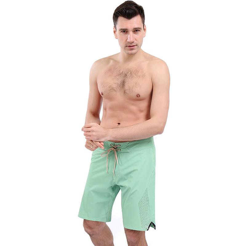 Mens Short surf maillot de bain Short De Plage Homme Short de Bain D'été Mâle Sport En Cours D'exécution Gym Shorts Couleur Uni