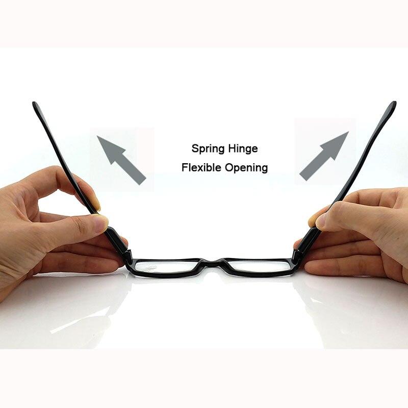 Kobiety Okulary do czytania dla mężczyzn Punkty widzenia Wyczyść - Akcesoria odzieżowe - Zdjęcie 6