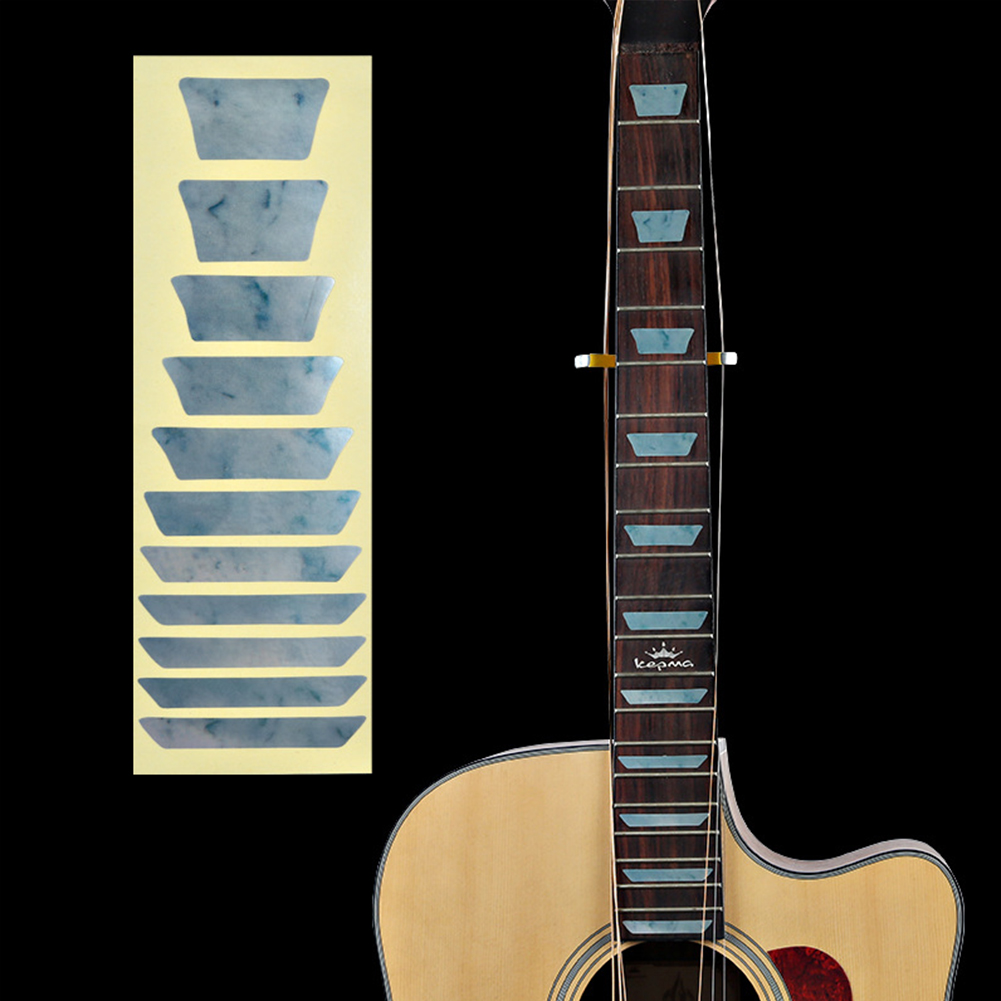 Bass Acoustic Decal Fretboard Inlay Guitar Electric Ultra Thin Stickers