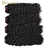 Перуанский волосы Фунми Piexy curl дважды обращается странный вьющиеся волосы Реми один пучок Pixel завиток натуральный черный Цвет Может Быть Кр