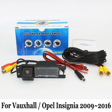 HD Широкоугольный Объектив Камера Заднего вида/Для Vauxhall/Opel Insignia 2009 ~ 2016/RCA Проводной Или Беспроводной CCD Ночного Видения камера