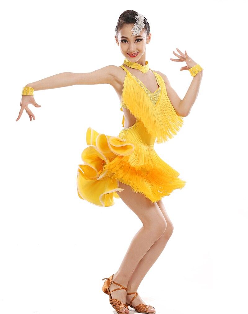 2017 New Latin Dance Costumes Women Salsa Tango Rumba Flamengo Ballroom Latin Dress Dance Costume Hot Sale