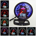 GReddys 62mm 2.5Inch RPM/VACUUM/ WATER TEMP/ OIL PRESS/ OIL TEMP meter/Turbo Boost Gauge 7 Light Colors LCD Display With Sensor