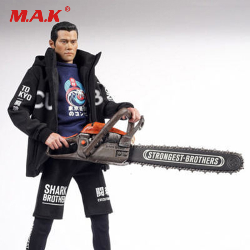 1//6th Strongest Brothers Chainsaw Model  For 12/'/' Figure Accessories toys