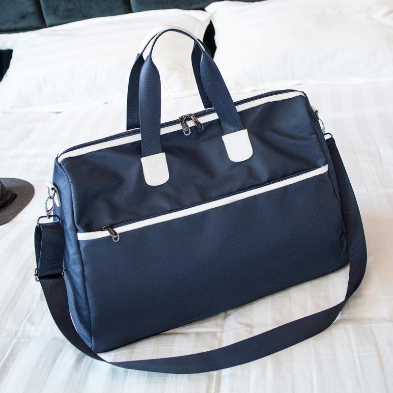 Men Hand Luggage Travel Women Large Capacity Bags Canvas Bags Weekend Shoulder Bags Multifunctional Waterproof Handbag B41-70 thumbnail