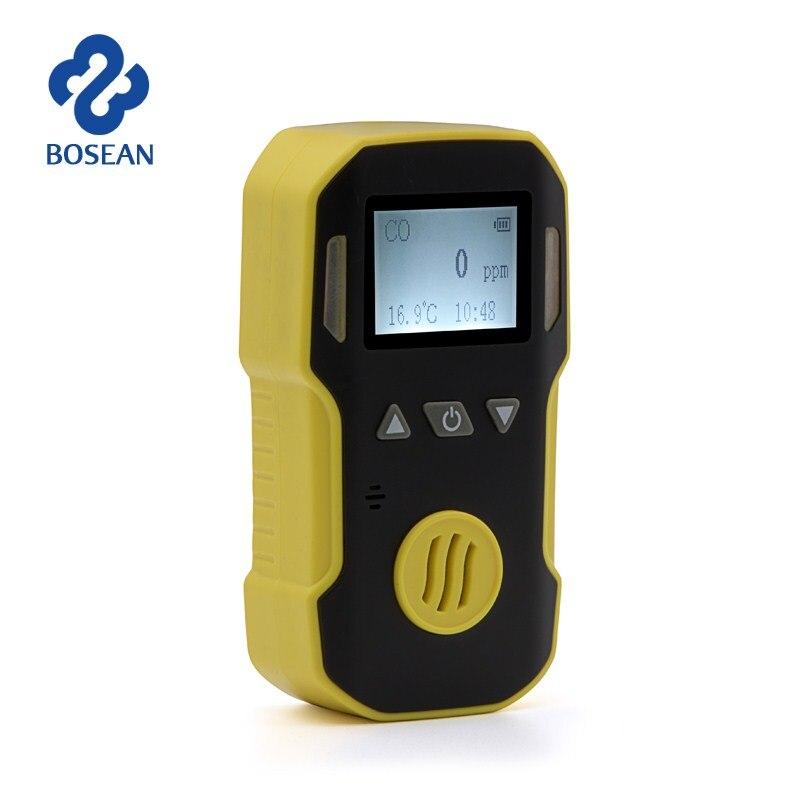 H2S CO Gas Detector Digital 4 in 1 Gas Monitor Meter LCD Display Gas Tester Automatic Alarm Sensor Harmful Gas Leak Detector