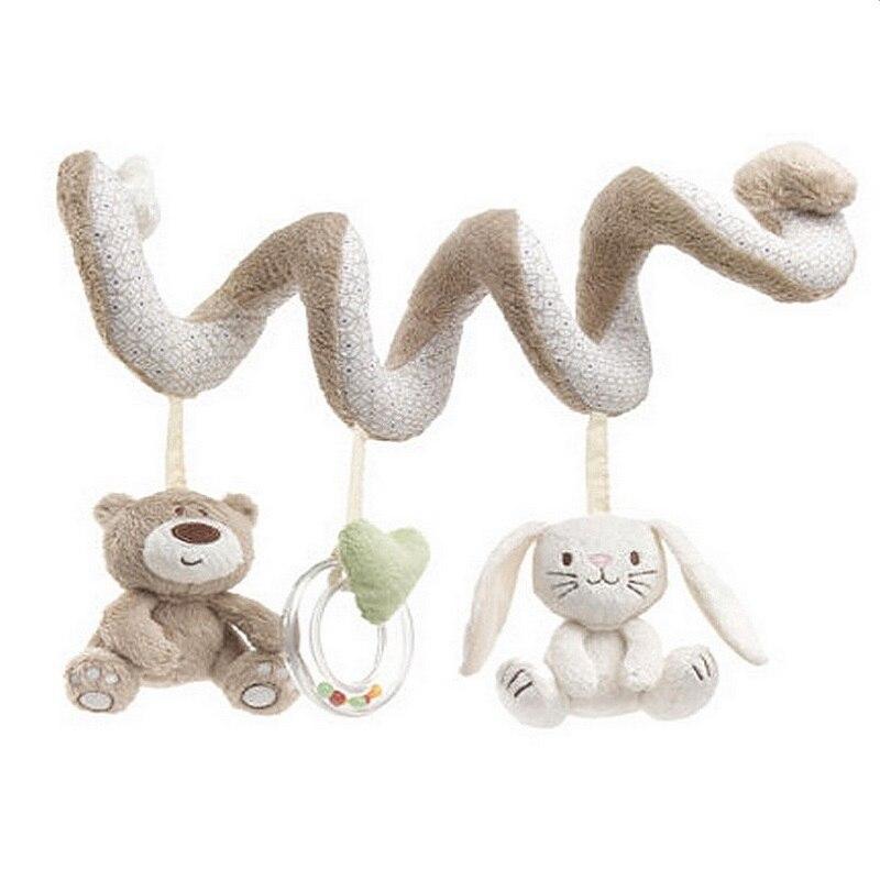 Newborn Infant Toys Baby Soft Plush Toys Baby Crib Hanging Toys ...