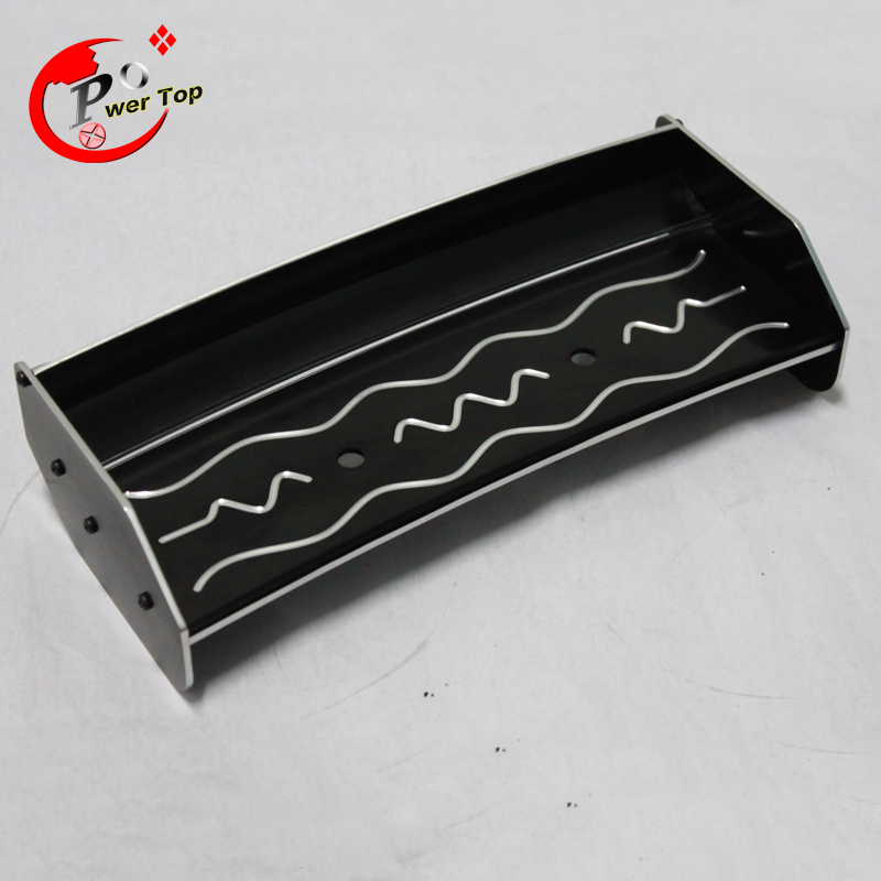 King Motor Baja Alloy rear wing for HPI Baja 5B Parts Free Shipping king motor baja alloy roto start pull starter for hpi baja 5b parts free shipping