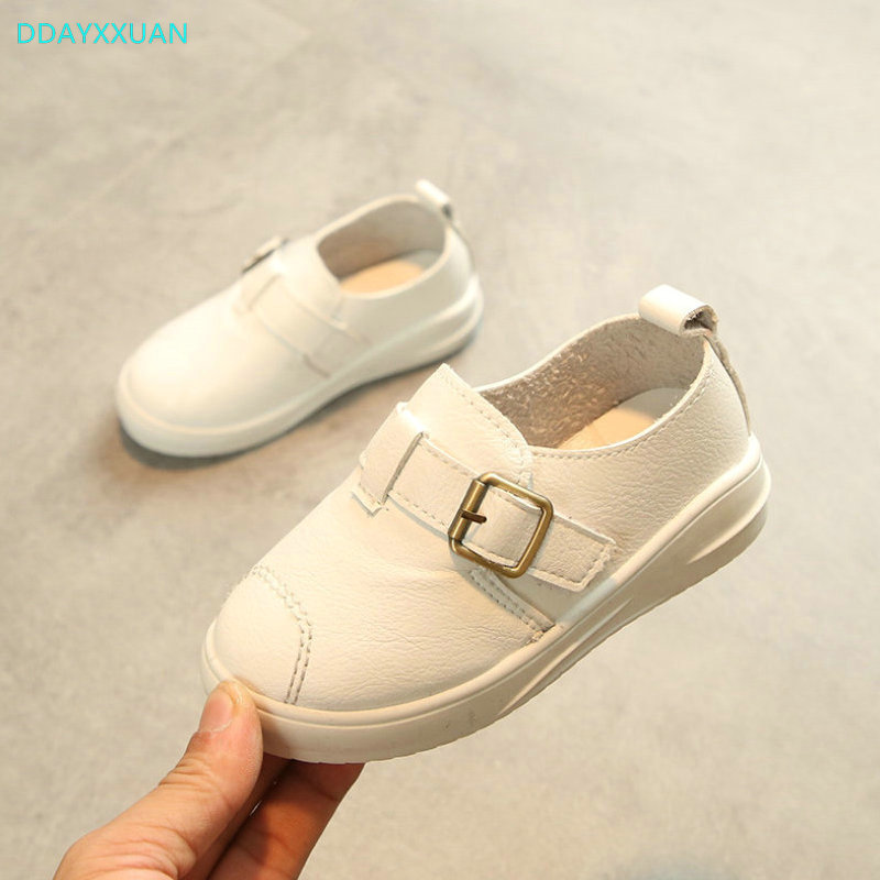 Kids White Shoes 2018 New Autumn Comfortable Toddler Boys Girls Air Mesh Sports Shoes Kids Outdoor School Sneakers Soft Sole
