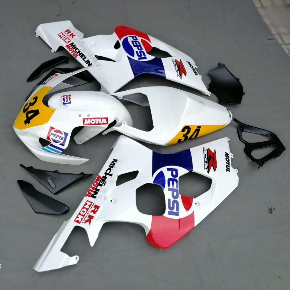 Motorcycle Injection Fairing Kit For Suzuki GSXR600 750 GSX-R600 2004 - 2005 GSXR 600 750 04 05 Bodywork Fairings UV Painted