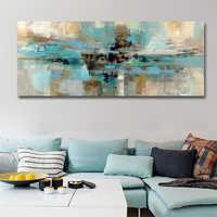 Moderne Abstrakte Lange Leinwand Druck Malerei Bilder Poster Und Drucke Für Wohnzimmer Dekoration Wand Kunst Kein Rahmen