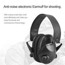 TAC 6s Anti-Noise Tactical Shooting Headset Airsoft Military Standard Headset Hunting Electronic Earmuff Headphone Helmet