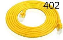 Желтый 2 м Cat 5 сетевой LAN Cable utp Интернет Ethernet кабель Соединительный разъем инструменты для шнура для ПК ноутбука.