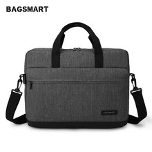 BAGSMART New Men 15.6 Inch Laptop Briefcase Bag Handbag Mens Nylon Briefcase Men's Office Bags Business Computer Bags(China)